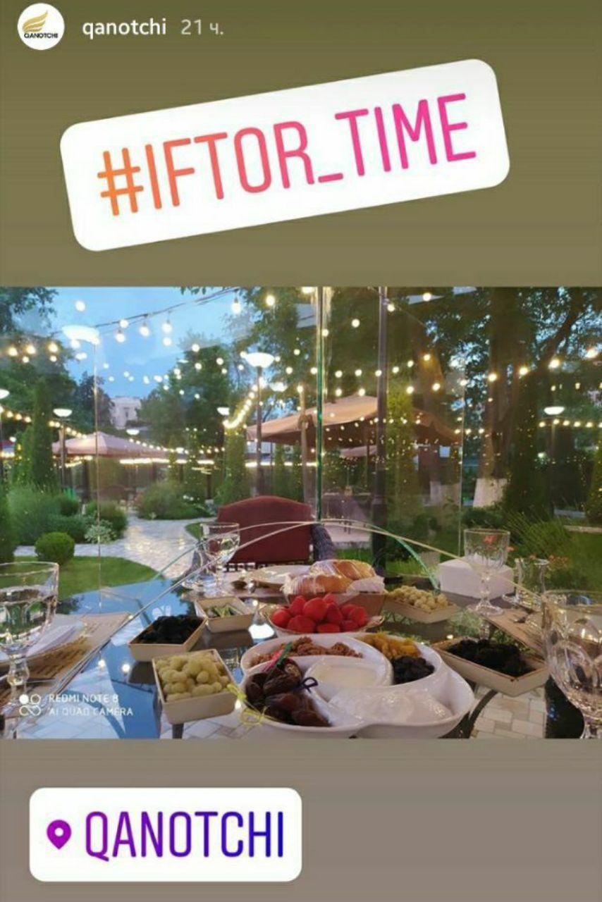 Ресторан Qanotchi объявил о своем открытии в тестовом режиме. Ресторан аффилирован с хокимом Ташкента Джахонгиром Артыкходжаевым.