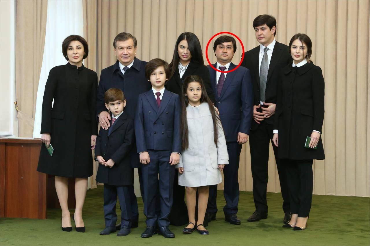 Семья Шавката Мирзиёева