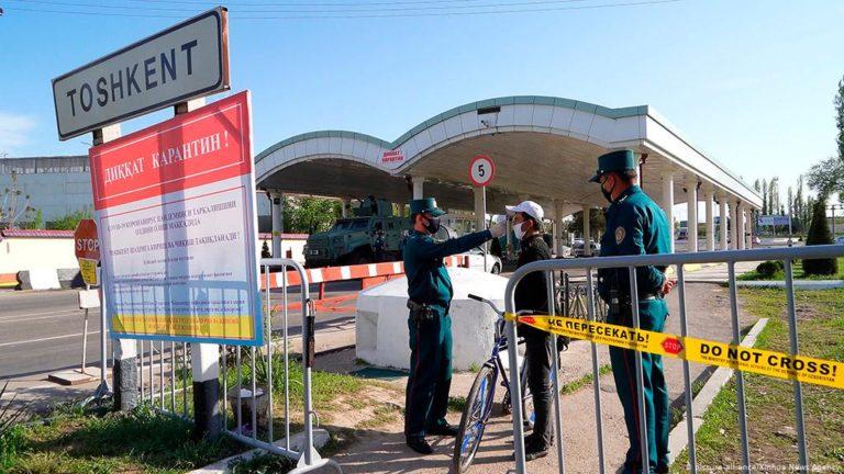 В Узбекистане ужесточается карантин и снова ограничивается движение автомобилей
