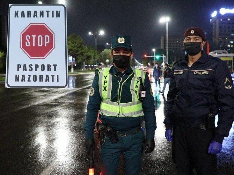71 махаллю в Ташкенте закрыли на жесткий карантин (список)